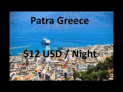 vLog 33 Patras Greece Apartment for 12 Dollars a Night