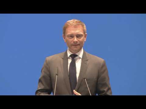 Es geht um unser Land - Christian Lindner auf dem Landesparteitag in Hamm