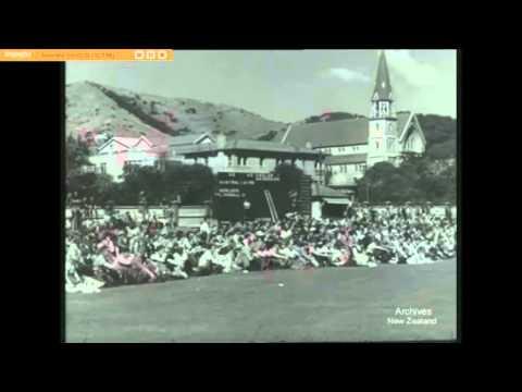 1946 NZ Vs Australia Test Cricket at the Basin Reserve