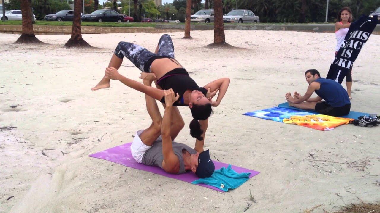Acro Yoga North Shore Park St Pete FL YouTube