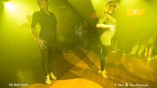FEROCITY PRO LADIES Bachata Dance Performance - Interviewed By NOELIA At THE SALSA ROOM