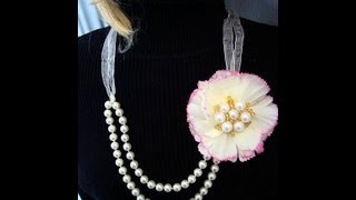 FAB NECKLACE, BRIDAL STYLE, EASY AND ECONOMICAL