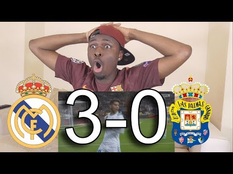 Barcelona Fan React To: Real Madrid vs Las Palmas 3-0 All Goals