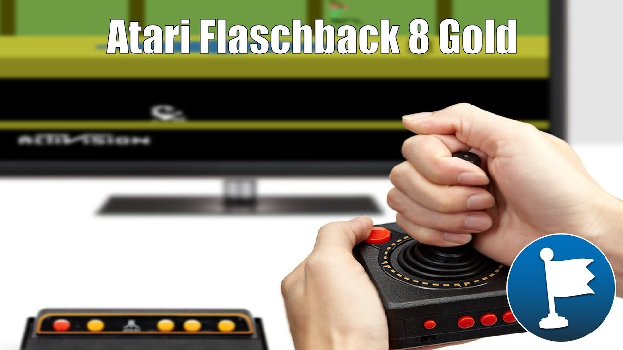 Testissa Atari Flashback 8 Gold Terveisia Videopelien