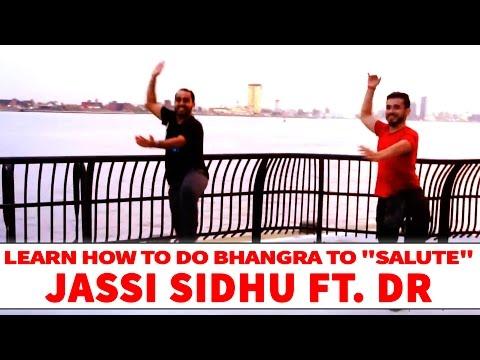 Jassi Sidhu ft. Dr Zues & Fateh Doe - Salute | Bhangra Dance Steps & Tutorials | Learn Bhangra