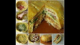 Timpano lasagna | lazania | healthy dinner recipes for family