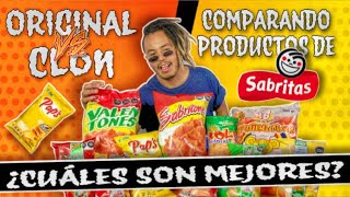 Original vs Clon 4: Comparando Productos De SABRITAS.