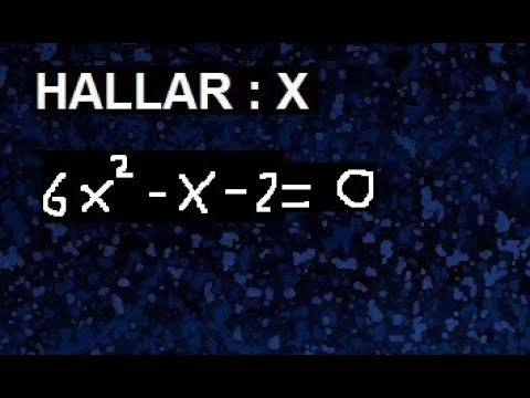 Download resolver 6x^2-x-2=0 ecuacion cuadratica 6x2-x-2=0 , conjunto solucion
