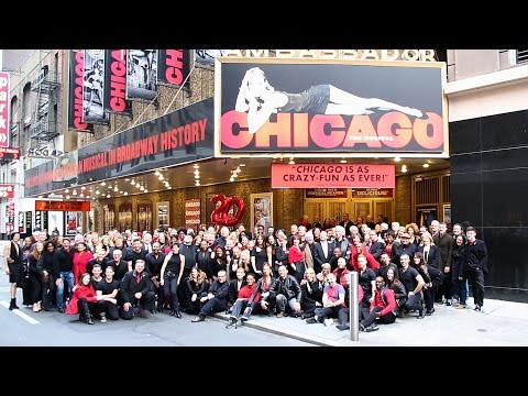 Broadway.com #BuzzNow: Bebe Neuwirth & James Naughton Celebrate CHICAGO's 20th Anniversary