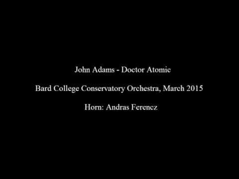 Doctor Atomic Horn Solo