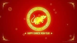 Chinese New Year 2020 Animated Background