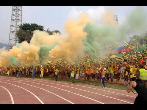 Himno de santander, Atletico Bucaramanga vs quindio, Fortaleza leoparda sur 2014