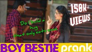 Boy Bestie Prank 1.0 | I want one hug 😝 | Mr.no1dubakur