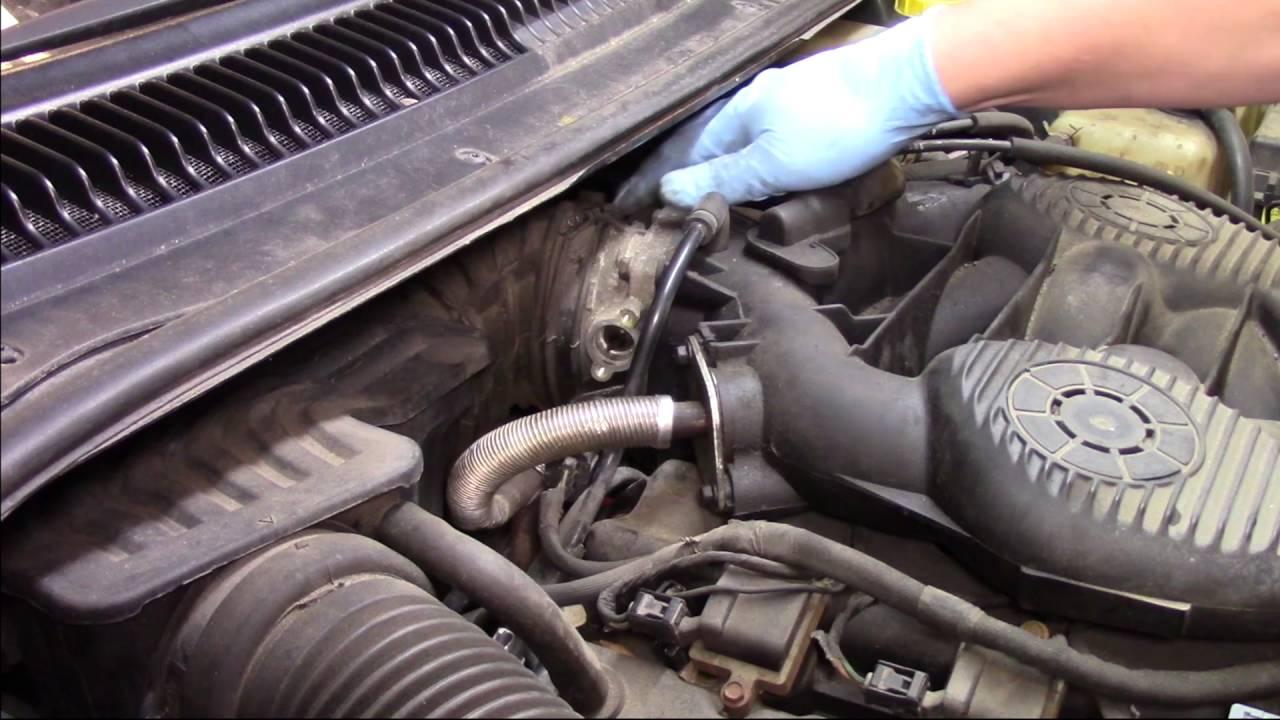 Throttle Position Sensor (TPS) Installation - Dodge, Chrysler, Plymouth 2 7L