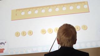 Інтерактивні уроки з математики для початкових класів на дошці INTBOARD
