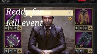 Getting ready for the kill event| Mafia City