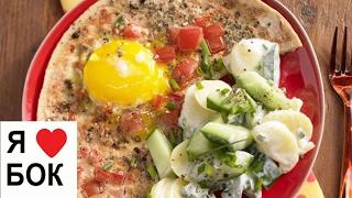 Жареные яйца с помидорами. Омлет с помидорами рецепт.