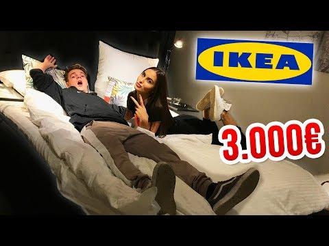 ein-bett-für-3000€-!!-😳-wir-kaufen-ein-bei-ikea!-😍
