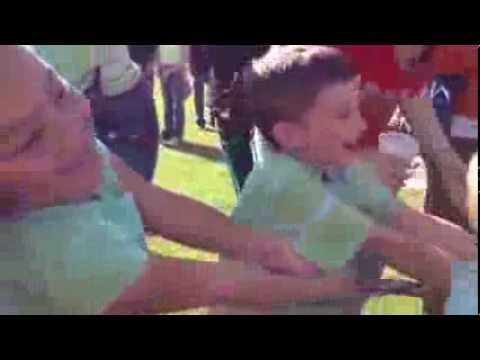 Graham Rathel kindergarten Field Day Tug of War.  Double Churches Elementary School.  2013. Video