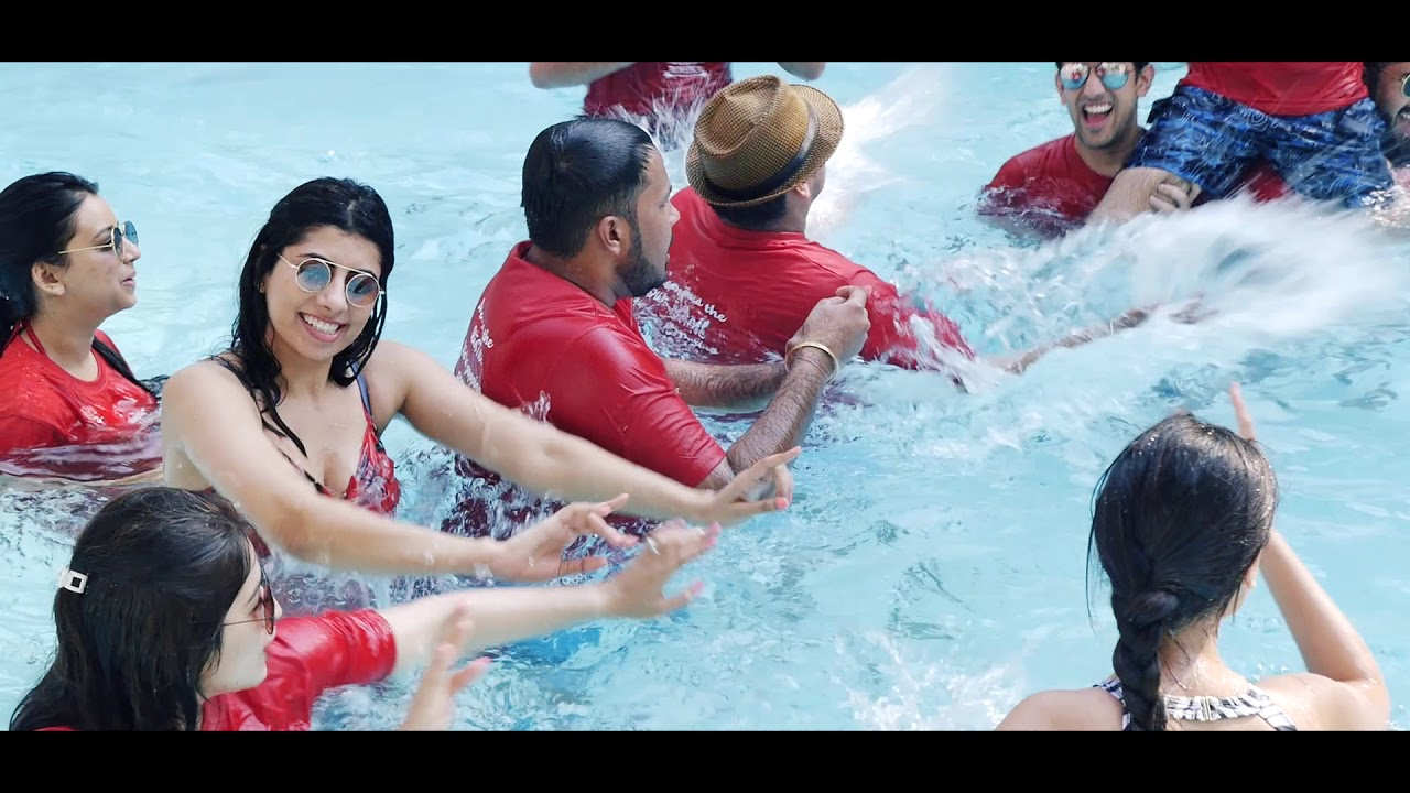 Go Pro pool party - YouTube