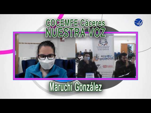 COCEMFE Nuestra Voz - Maruchi González