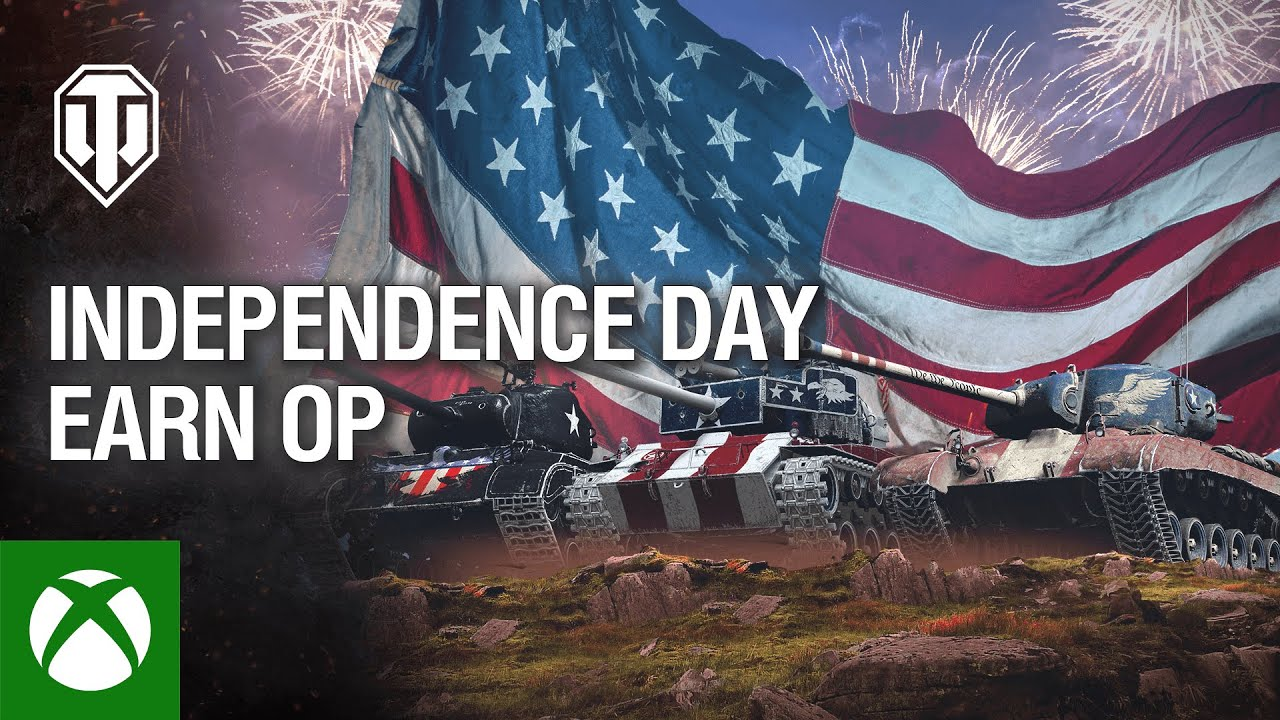 World of Tanks: Independence Day Earn Op