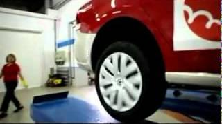 Пробег — 2011. Проверка давления в шинах VW Polo