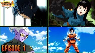 Dragon Ball Heroes EPISODE 1 SPOILERS: Super Saiyan Blue vs Super Saiyan 4! (DBH PREVIEW SSB VS SS4)