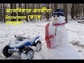 আমেৰিকাত Snowfall | America Diary I Assamese Vlog I Snowfall Video