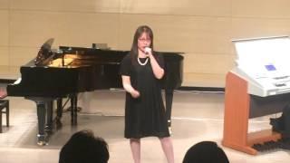 説明:2015年12月6日 カワイ音楽教室発表会 at アウガ.