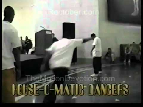 """1999 HIP-HOP DANCERS """"House-o-Matic""""@ KEITH HARING opening : """"Chic-a-go-go"""" Cable Access TV"""
