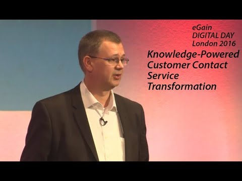 Knowledge-Powered Customer Contact Service Transformation at EE With eGain Knowledge+AI