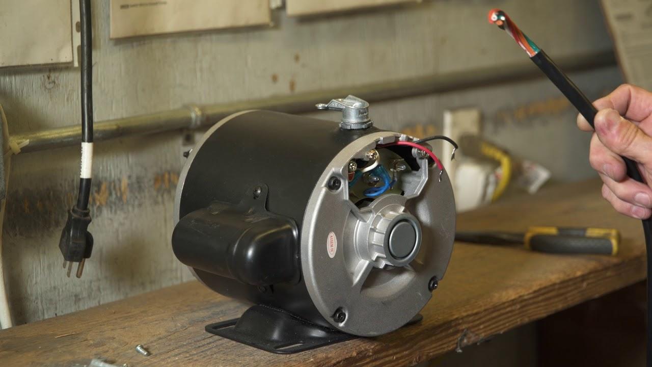 elite motors 3 4 hp painted 56 frame boat lift motor 110v wiring [ 1280 x 720 Pixel ]