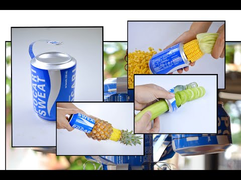 18 Simple Life Hack Use Cans To Easier Your Life