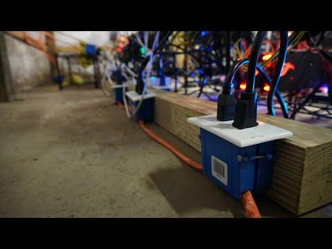 RX580 Mining Frame Rig Build