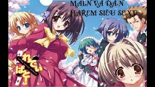 Ladies versus butlers! - Dàn harem bá đạo của main ( Warning 18+)•Hentai + Harem• Nhạc anime hay