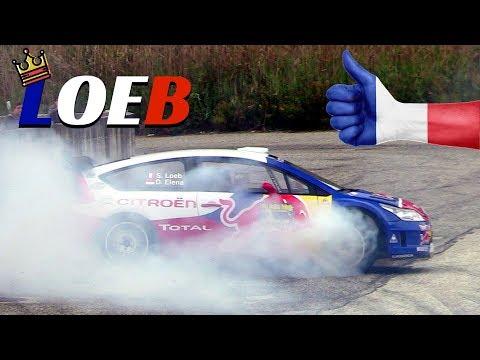 Sèbastien Loeb & Citroen C4 WRC - Jumps, donuts & Actions! - Rally Legend San Marino 2017