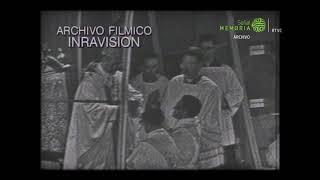 Visita de Papa Pablo VI a Colombia (Teleayer, 1968)