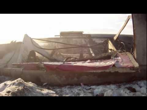 Последствия пожара в Подольске.