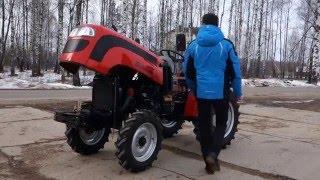 Подробный обзор мини-трактора Rossel RT-242D