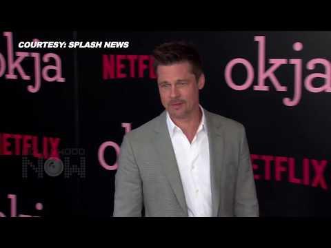 Brad Pitt Reacts On Jennifer Aniston & Justin Theroux Split