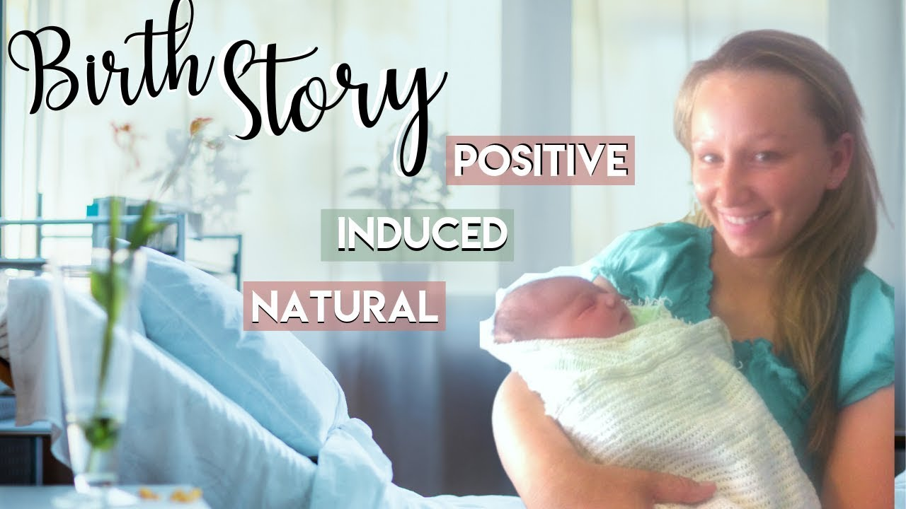 Induced NATURAL Birth Story | Birth Without Epidural