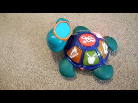 Baby Einstein Music Lights Turtle Toy Video