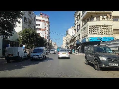 Driving in oran Algérie 01 03 2019 وهران الجزائر