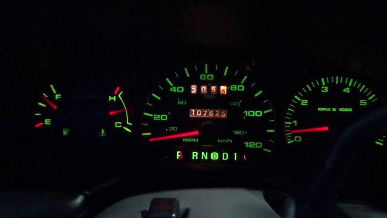 2001 ford taurus dash light fuse