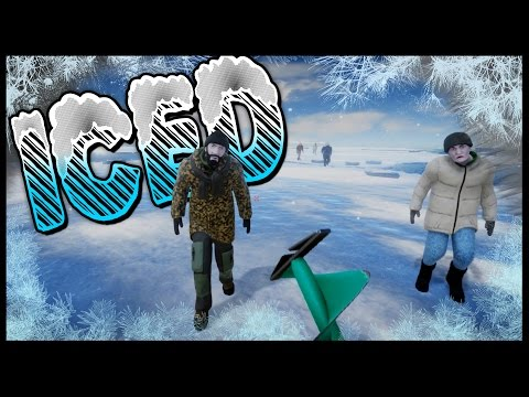 ICED - ZOMBIE ATTACK!? Iceberg Survival Game - Stranded Deep