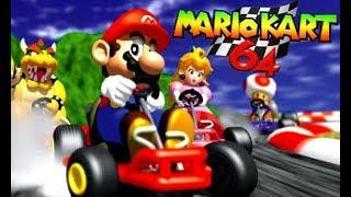 Super Mario Kart 64    Desbloqueando pistas inversas