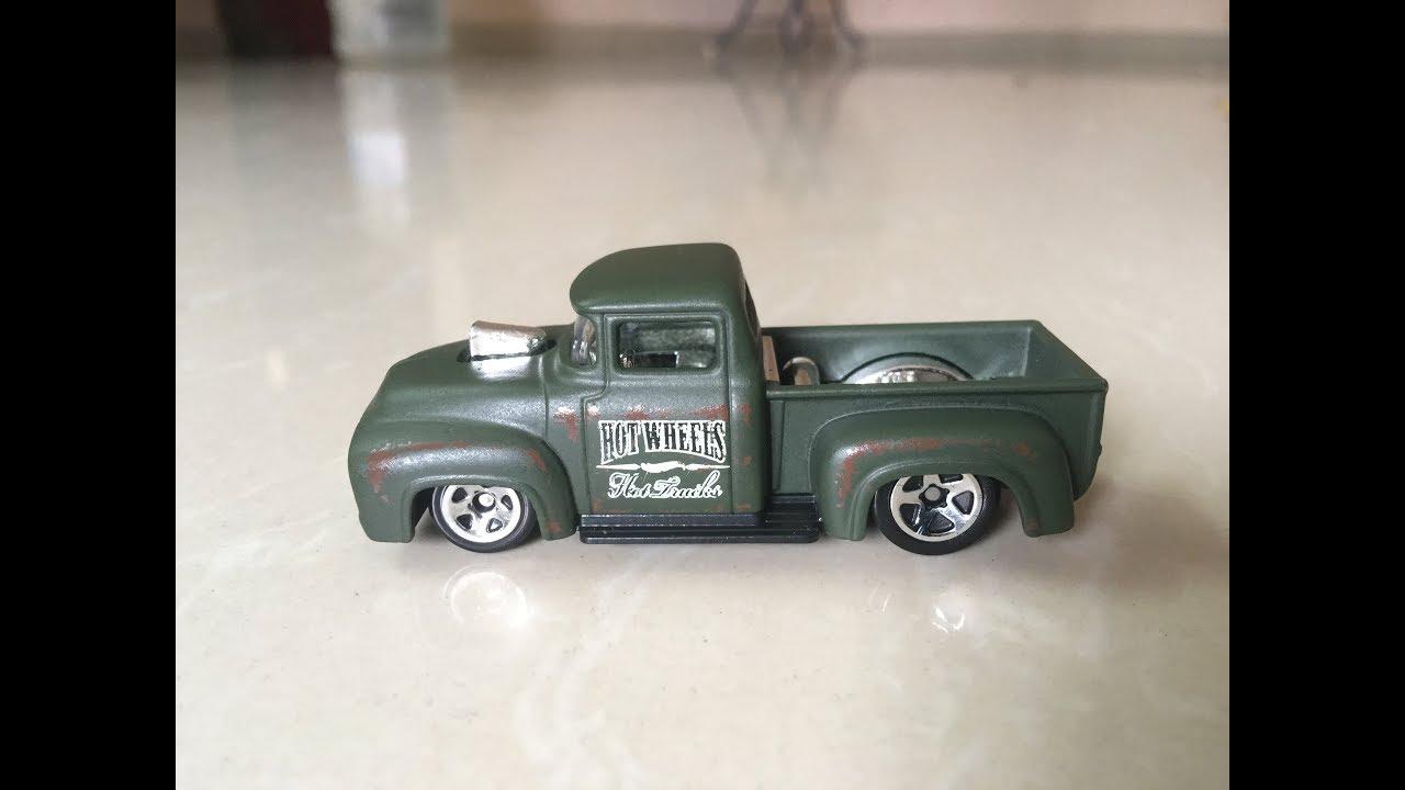 Hot Wheels Custom 56 Ford F100 Truck Hw Hot Trucks Series Youtube