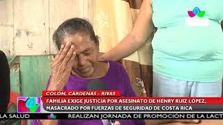 Multinoticias | Sobrevivientes narran ataque criminal de Fuerzas Policiales de Costa Rica