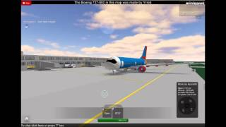 Roblox Southwest Airlines Boeing 737-700 Startup e desligamento